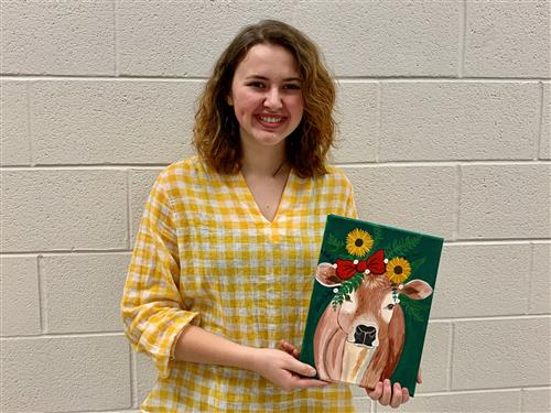 SV Sophomore Wins Stark Library Teen Art Award
