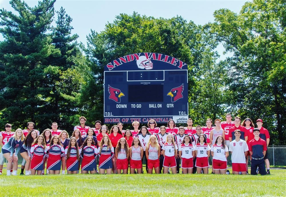 Fall Sports Pictures and Athletic Booster Club Informatoin