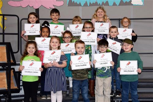 Congratulations to the SVE February Students of the Month