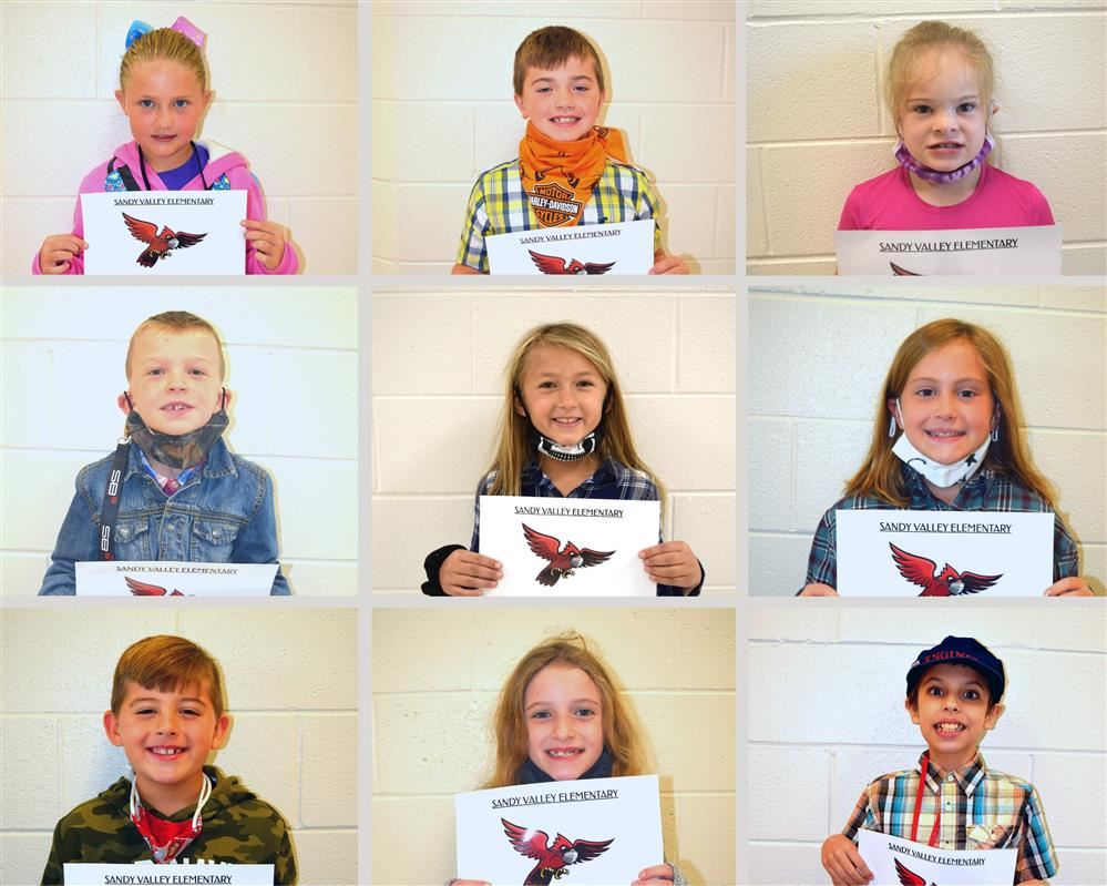 SVE September Students of the Month
