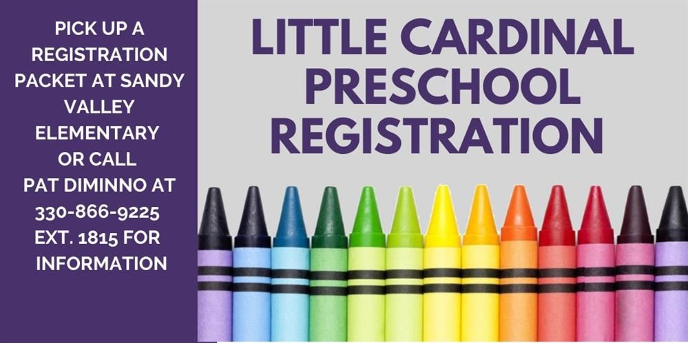 Little Cardinal Preschool Registration