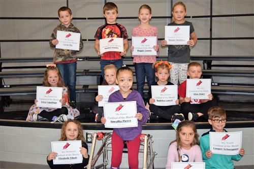 SVE Cardinals of the Month