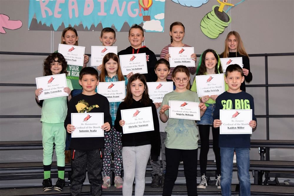 Congratulations to the SVE February Students of the Month!